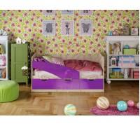 Кровать Бабочки (металлик)