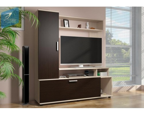 Тумба TV-2 А Стиль мебельная компания Донецк.Тумба TV-2 А по цене от 5 487.00 руб.-ДНР