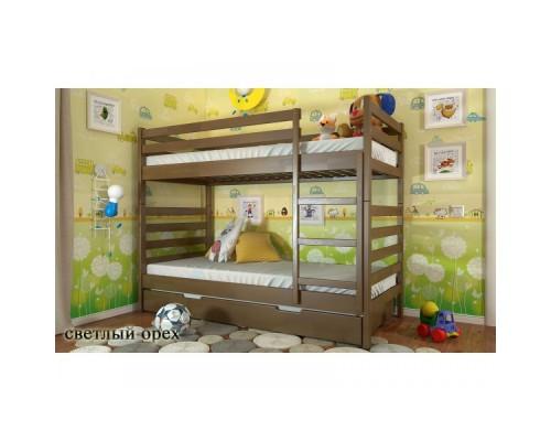Двухъярусная кровать Рио с ящиками Wood Market 24 Донецк.Двухъярусная кровать Рио с ящиками по цене от 24 400.00 руб.-ДНР