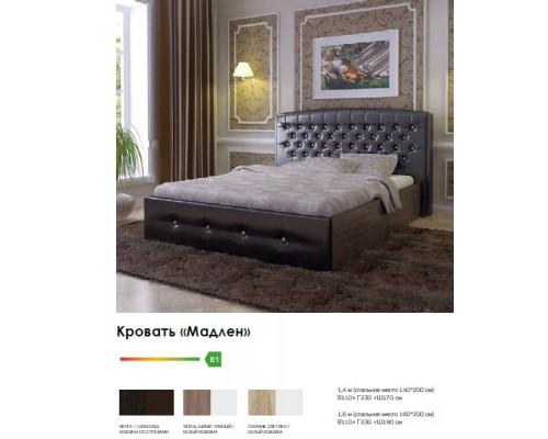 Кровать Мадлен кожзам