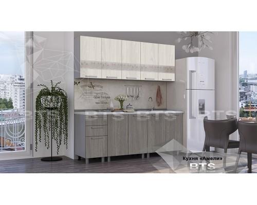 Кухня Амели 2.0 БТС мебель Донецк.Кухня Амели 2.0 по цене от 13 965.00 руб.-ДНР