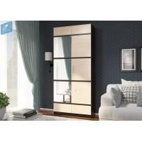 Шкаф Эва 24 с декором и зеркалом
