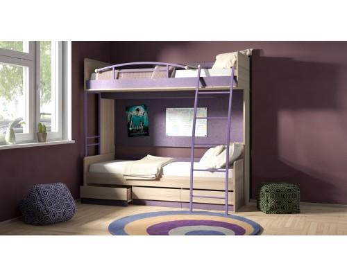 Двухъярусная кровать Индиго 01