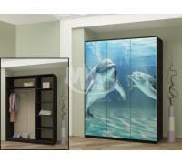 Шкаф трехстворчатый Дельфин